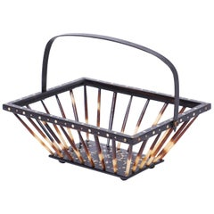 Anglo Indian Quill Basket