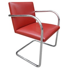 Midcentury Knoll Brno Chairs by Mies van der Rohe