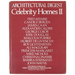 Celebrity Homes II AD Presents Private Worlds of 30 Int'l Personalities 1st Ed