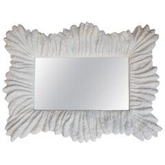 Faux Coral Mirror