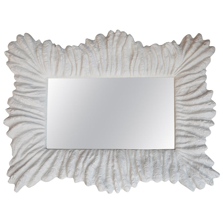 Faux Coral Mirror For Sale