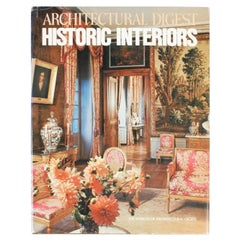 Architectural Digest Historic Interiors by Paige Rense, First Edition