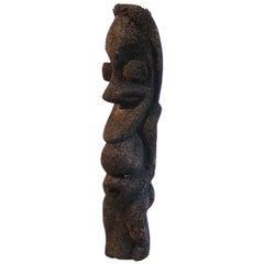 Mid-20th Century Vanuatu Tribal Fernwood Grade Ritual Figure, Ambrym Island