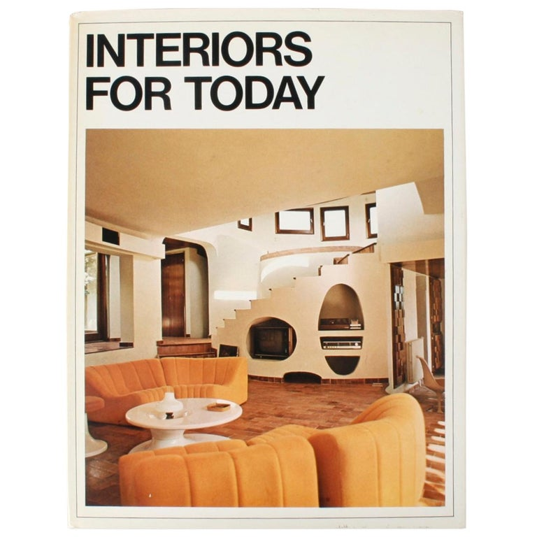 Interiors for Today, First Edition For Sale