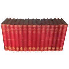 Extensive Collection of 19th Century Leather Bound Books, Priced Per Book