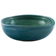 Helle Alpass Bowl of Glazed Stoneware, 1960s-1970s