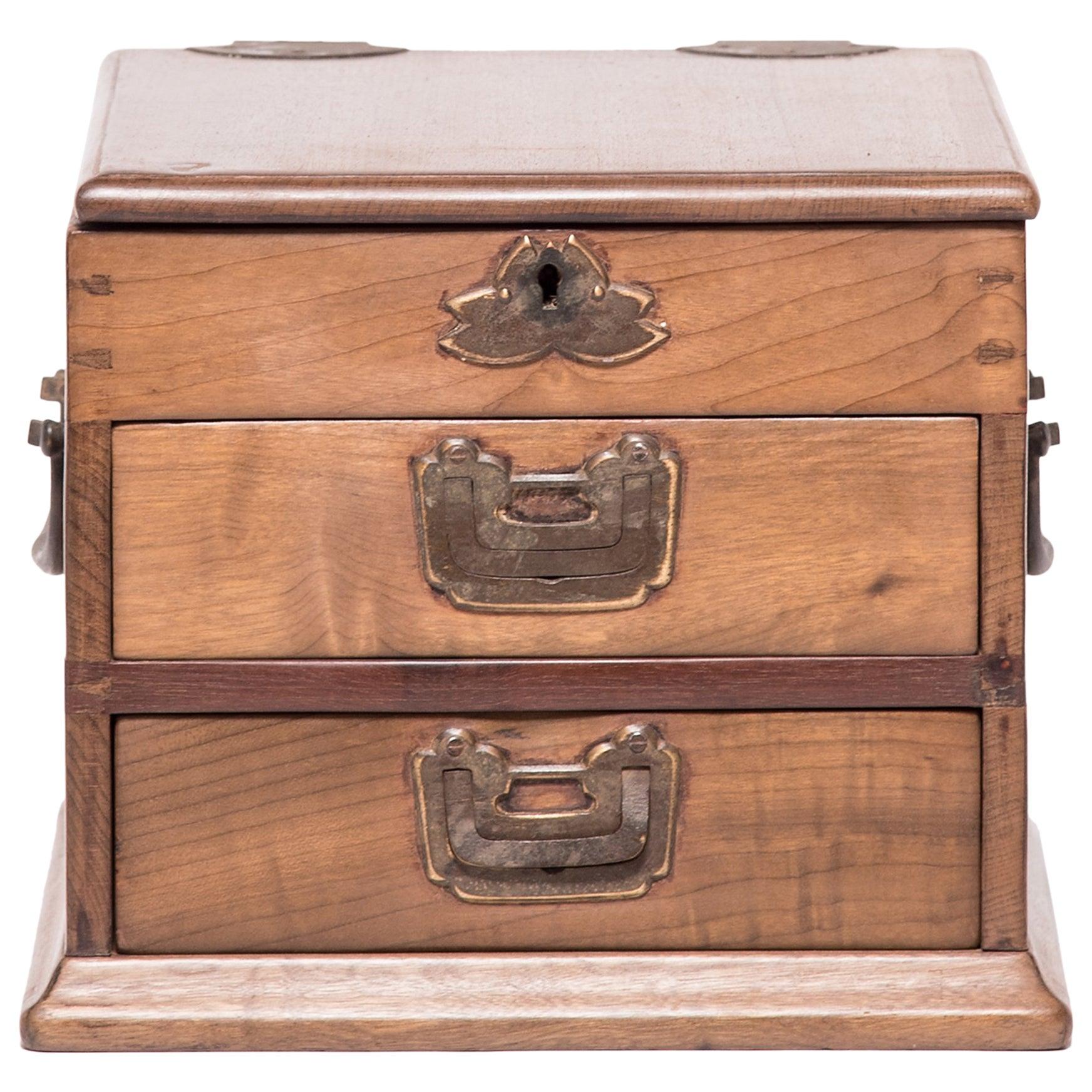 Early 20th Century Chinese Ruyi Jewelry Box