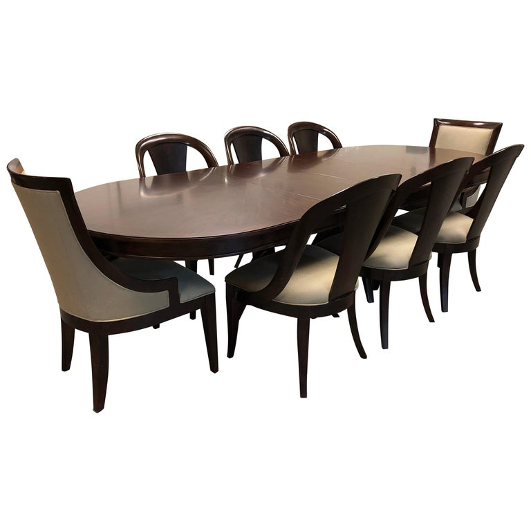 Bernhardt Furniture Martha Whitney Opal Point Collection Table Set For