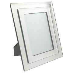 1970s Vintage Mirrored Picture Frame