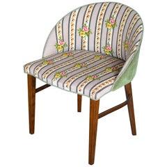 Frode Holm Vanity or Dressing Room Chair in Mahogany Danish Midcentury