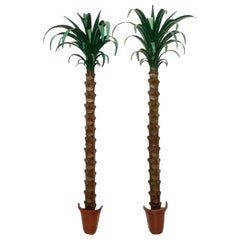 Pair of Palm Tree Form Torcheres