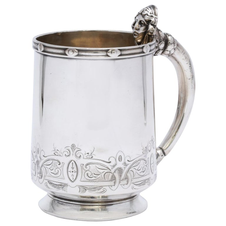 Neoclassical Sterling Silver Child's Cup/Mug by Gorham For Sale