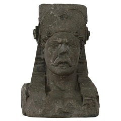 Early 17th Century Carved Stone Renaissance Bust
