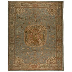 Oversized Vintage Persian Sultanabad Rug