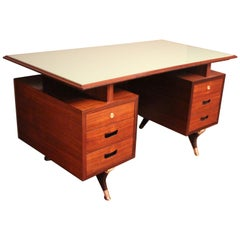 Midcentury Italian Executive Desk