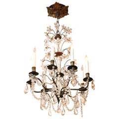 Hollywood Regency Princess Chandelier