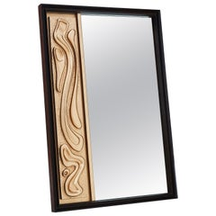 Oceanic Style Wall Mirror by Pulaski