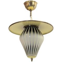 Hallway Ceiling Lamp, Norway, 1960
