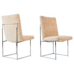 Pair of Milo Baughman for Thayer Coggin Side Chairs