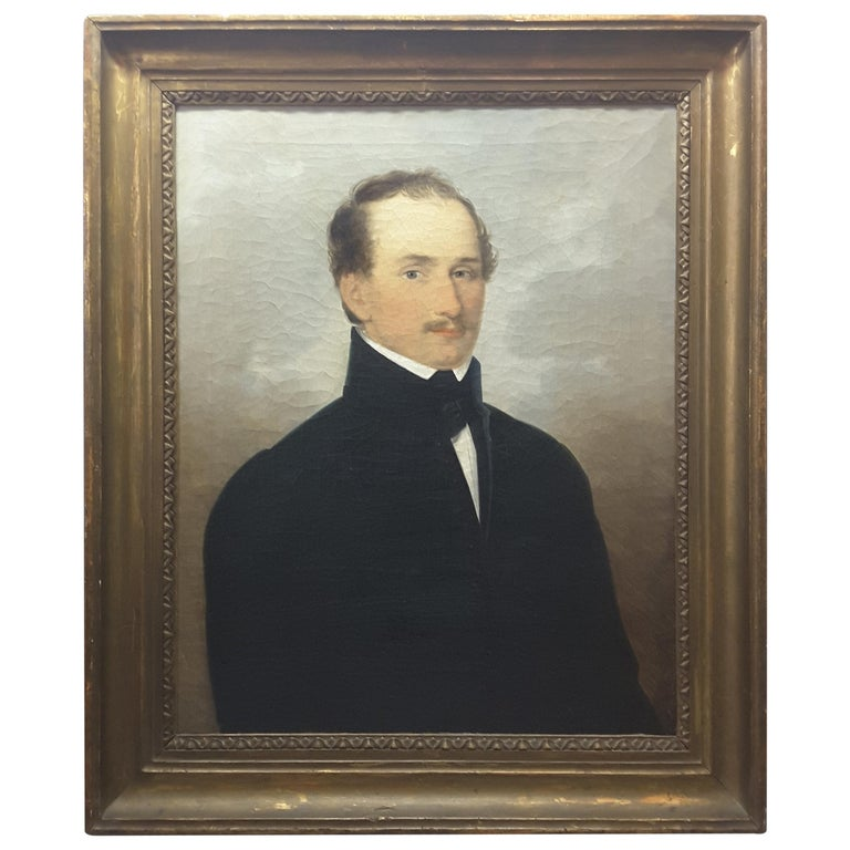 English 19th Century Portrait of a Gentleman For Sale