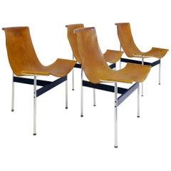 "Douglas Kelly, Ross Littell and William Katavolos ""T"" Chairs, Set of 4"