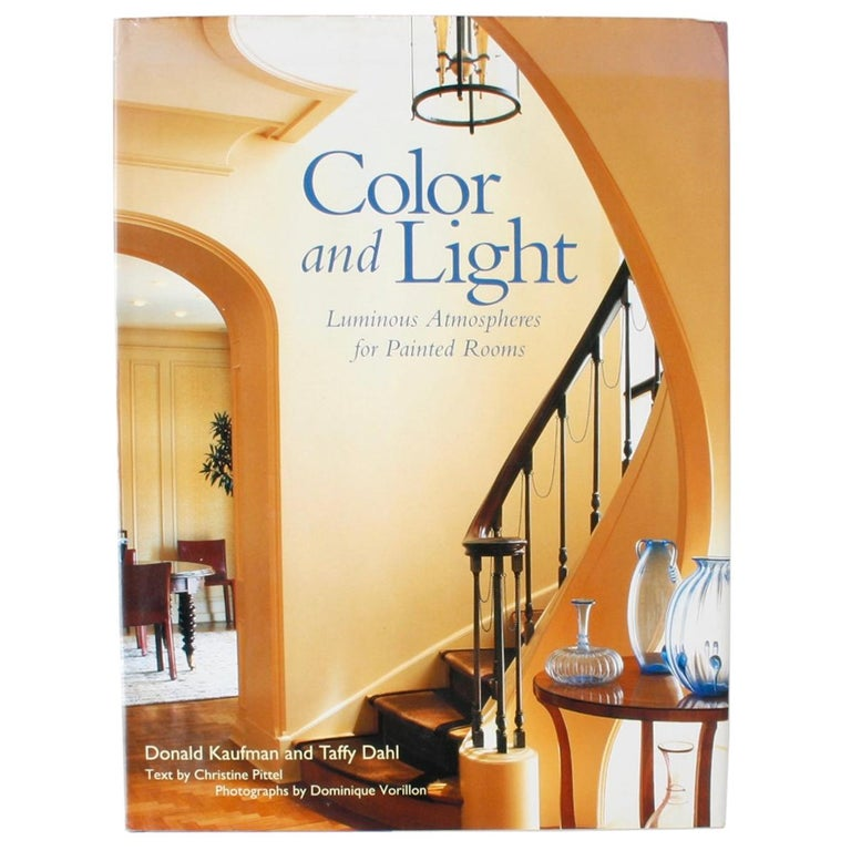 Color and Light Luminous Atmospheres for Painted Rooms, 1st Edition For Sale