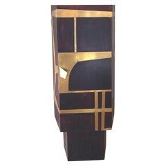 Animalier, Neo-Vintage Contemporary Cabinet