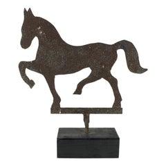 Folk Art Horse Stable Sign