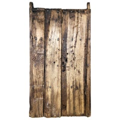 19th Century Sabino Wood Door Found in Western México
