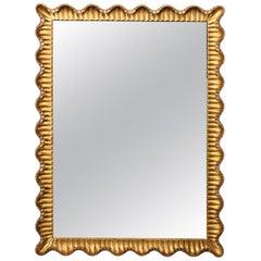 Danby Scalloped Italian Mirror, 1950s