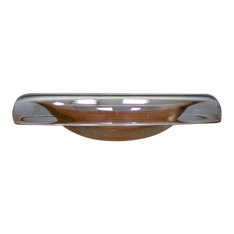 Alfredo Barbini Glass Bowl for Murano For Sale