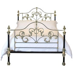 Bespoke Brass and Iron Tangier Bed