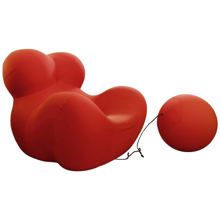 """Big Mama"" Armchair by Gaetano Pesce for B&B Italia For Sale"