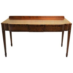 Regency Mahogany Serving Table or Console Table