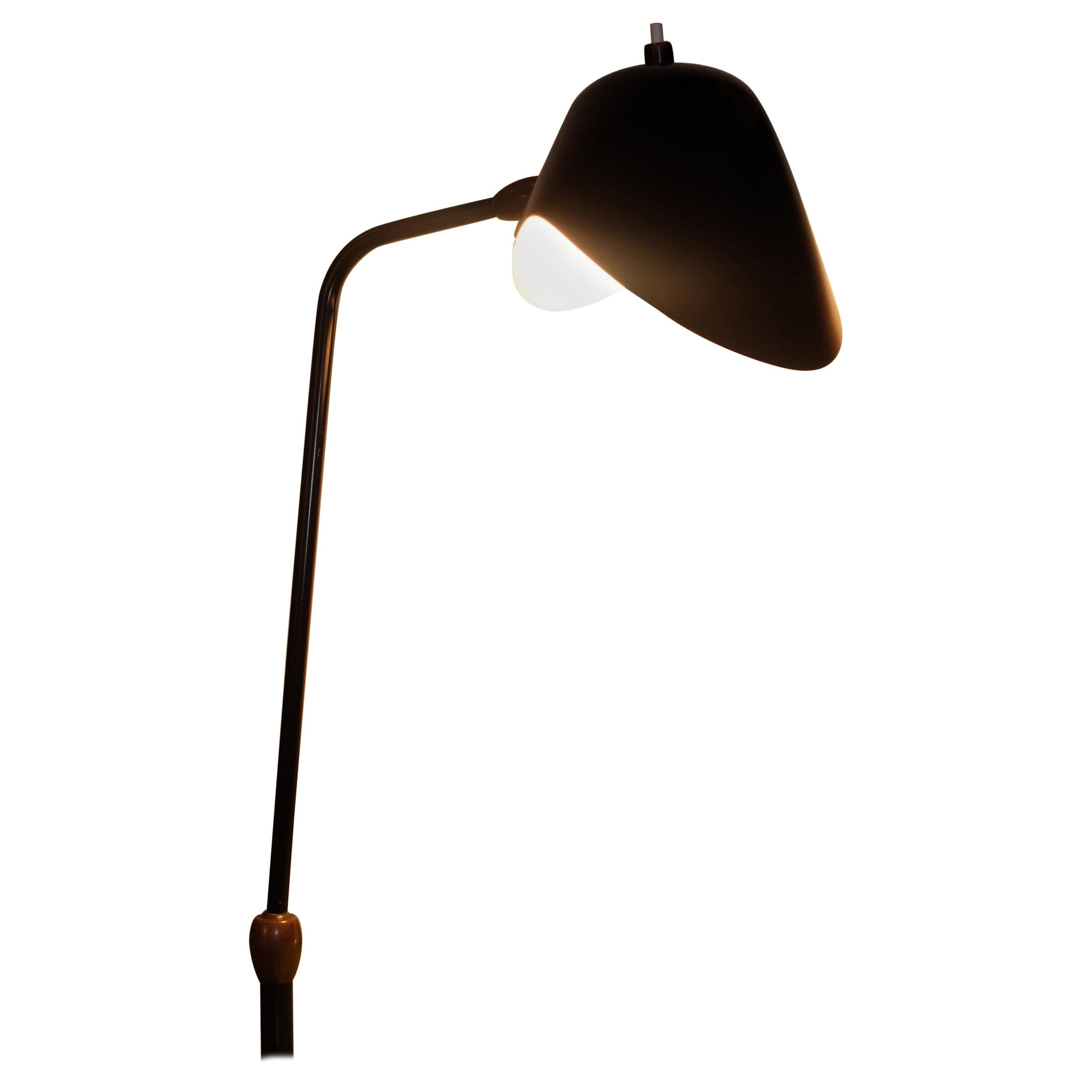 Serge Mouille Clamp Desk Lamp With Double Rotule For Sale