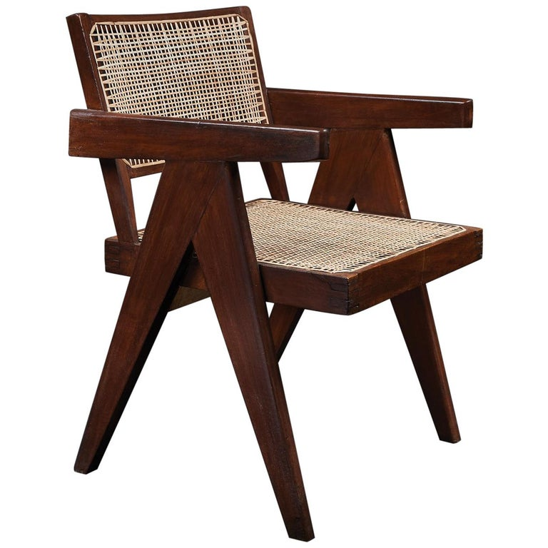 Pierre Jeanneret Office Chair For Sale