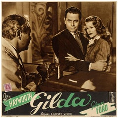 """Gilda"" Original Italian Film Poster"