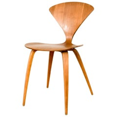 Mid-Century Modern Norman Cherner for Plycraft Wood Side Chair, 1960s