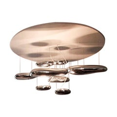 Artemide Mercury Chandelier Ceiling Flush Light Fixture by Ross Lovegrove