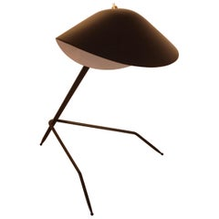 Emblamatic Serge Mouille Tripod Desk Lamp Table Lamp