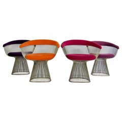 Set of Four Warren Platner Chairs