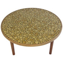 Ceramic Tile-Top Coffee Table by Gordon and Jane Martz