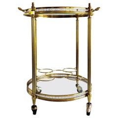 Vintage Italian Serving Trolley