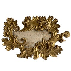18-19th Century European Decorative Sign