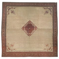 Oversized Antique Turkish Hereke Carpet