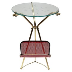 Midcentury Drinks Table Gueridon