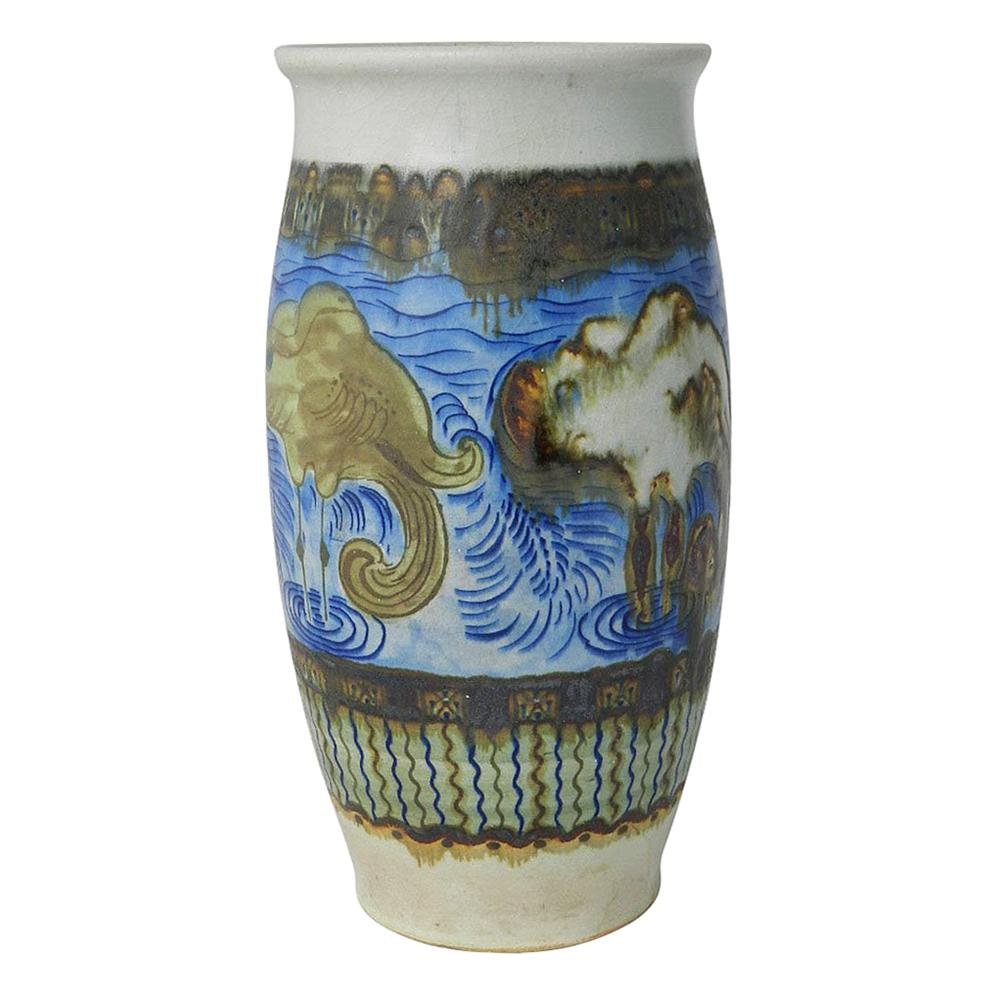 Primavera Vase Studio Art Pottery Art Deco