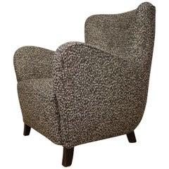 Fritz Hansen 1940 Easy Chair Model 1669, Raf Simons Upholstery