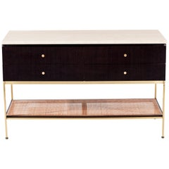 Paul McCobb Travertine Console