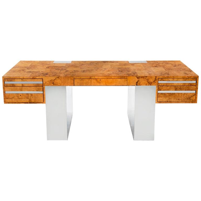 Paul Evans Cityscape Desk For Sale